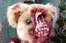 These Zombie Teddy Bears by Undead Teds are Terrifying