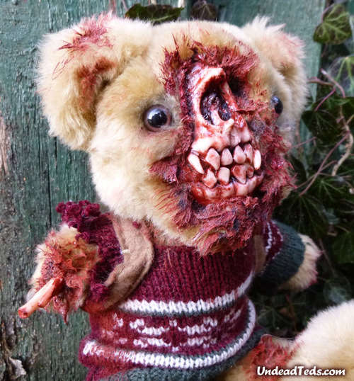 Zombified Teddy Bear Plushies