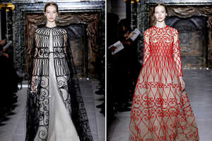 The Valentino Spring 2013 Couture Collection Features Stunning Dresses