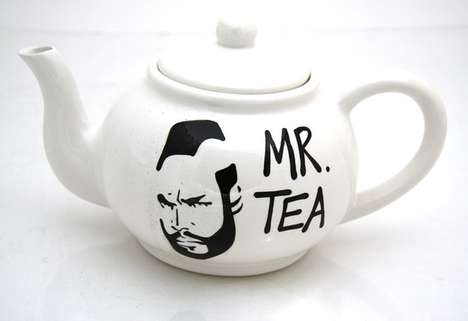 Mr. T Teapot by Lenny Mud