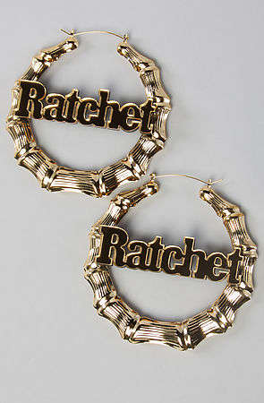 ratchet earrings