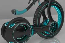 Futuristic Cog Conveyances