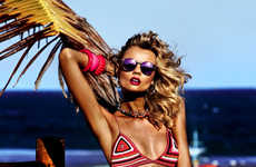 Windswept Beach Editorials - Vogue Brazil Has you Dreaming for Beach Weather