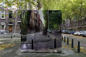 This Camo Art by Roeland Otten Disguises Ugly Parts of Amsterdam