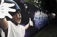 Graffiti-Sanctioning Festivals - The Roskilde Festival Graffiti Project Encourages Music Fans to Spr
