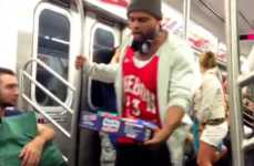 Multicultural Panhandler Pranks - An Urban Improv Troupe Invades an NYC Subway with High Demands
