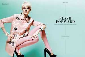 The Flash Forward S Editorial is Pastel-Infused