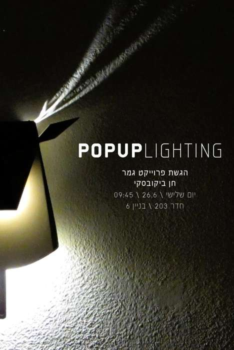 Pop Up Lighting
