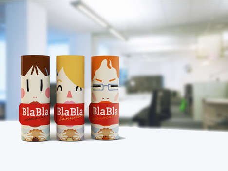 Bla-Bla Cookies Packaging