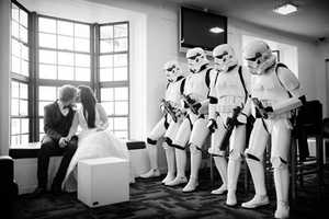 Star Wars-Themed Wedding Costumes are Perfect for Dedicated Nerd Couples