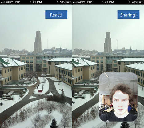 Photography App reactions