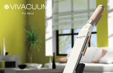 Cricket Bat-Shaped Vacuums - The Vivacuum for Blind Makes Cleaning Chores More Manageable