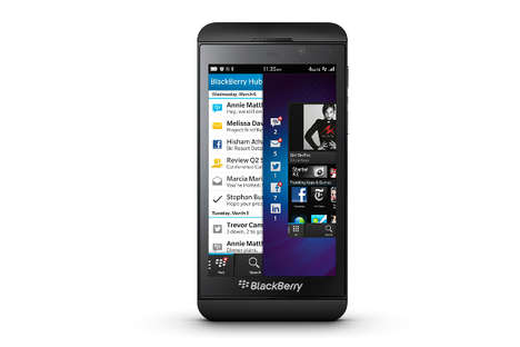new blackberry Z10 