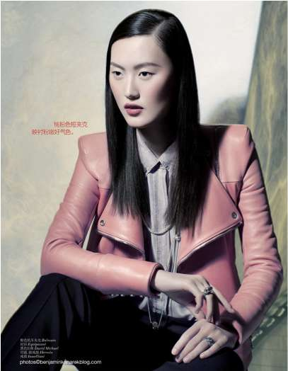 Tender Skin in Vogue China