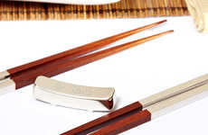 Elegantly Engraved Chopsticks