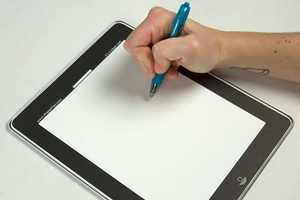 The iPaperPad is Designed to Resemble an Apple iPad