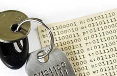 Computer Code Keychains