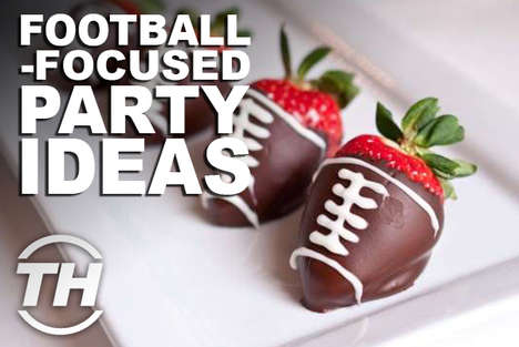 Football-Focused Party Ideas - Courtney Scharf Unveils Super Bowl Party Supplies That Will Score Big
