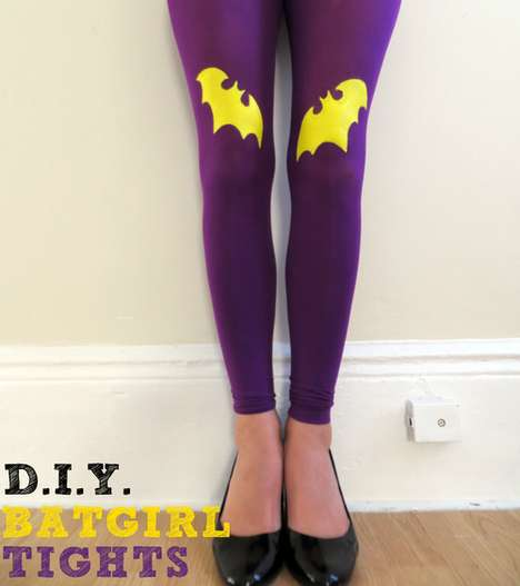 Superheroine tights