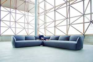 The Nest Sofa by lagranja is a Subtly Tweaked Standard Couch
