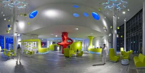 Modern Whimsical Accommodations - The B4 Hotel by Simone Micheli is Wacky and Wonderful