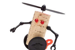 Turn Your Old Wine Corks into Robotic Buddies with The Corkers Set