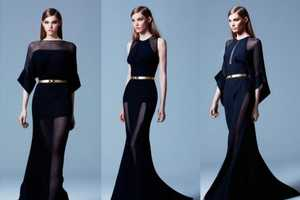 Elie Saab Pre-Fall 2013 Veers Towards a Ready-to-Wear Collection