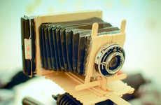This Photographer Builds Working Camera Out of Film and Craft Items