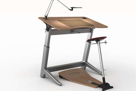 Locus Seat and Desk
