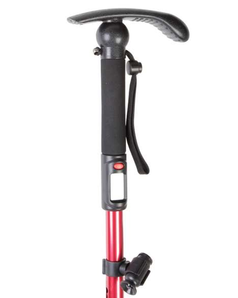 Pedometer Walking Stick