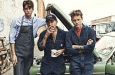 The Lee 101 Spring/Summer 2013 Collection is Blue Collar