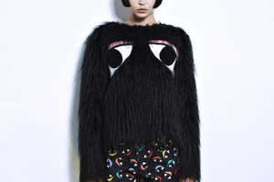 Joanna Pybus Designs Fantastic Fashions With Dramatically Large Eyes