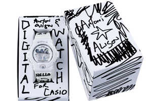 The Antoni & Alison x G-Shock Watch Collection is Scribbled