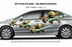 Sci-Fi Auto Stickers