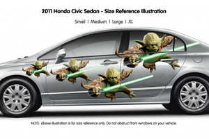 These Car Graphics Will Express Your Love for Star Wars on Your Commute
