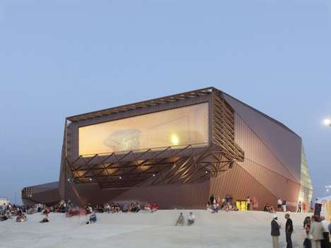Paloma by TETRARC Concert Hall is Sci-Fi Inspired