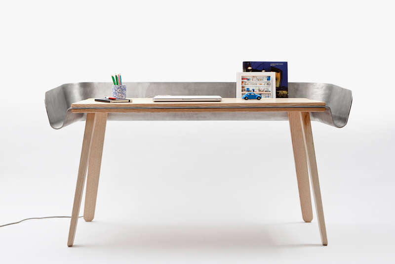 Metal Moat Desk