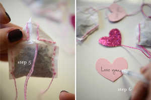 The Cupcakes and Cashmere Valentine's Tea Bags Are Handmade