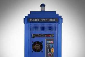 This Doctor Who TARDIS PC Case is a Must-Have for Any Who Junkie