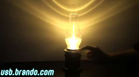 Blow LED Lamp