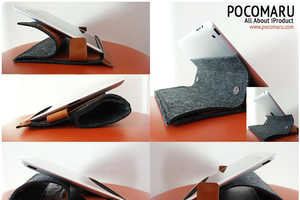 PocoWool are Stylish Eco-Friendly iPad Cases