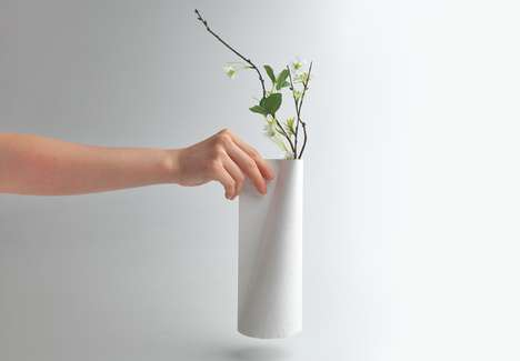 Tyvek Vase