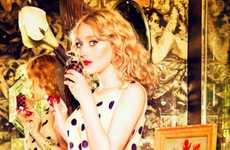 Dakota Fanning is Red Hot in the Glamour March 2013 Issue