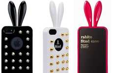 Embellished Bunny Smartphone Sheaths