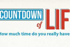 The Life Countdown Calculates Years Left to Live