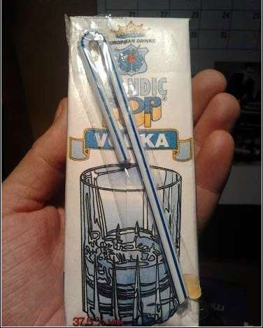 Adult Juice Boxes - European Drinks Sells Vodka in a Non-Traditional Container
