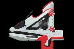 The Air Jordan Font is Created Using Image Renderings of Classic Kicks