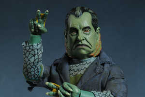 These Villian Toys Humorously Integrate Politics and Pop Culture