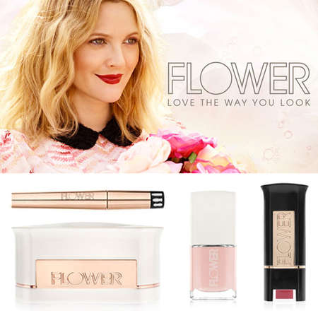Formula-Perfecting Cosmetic Lines - Drew Barrymore Presents Economical Makeup