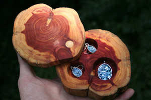 Etsy Seller Element83 Offers Handcrafted Cedar Jewelry Boxes